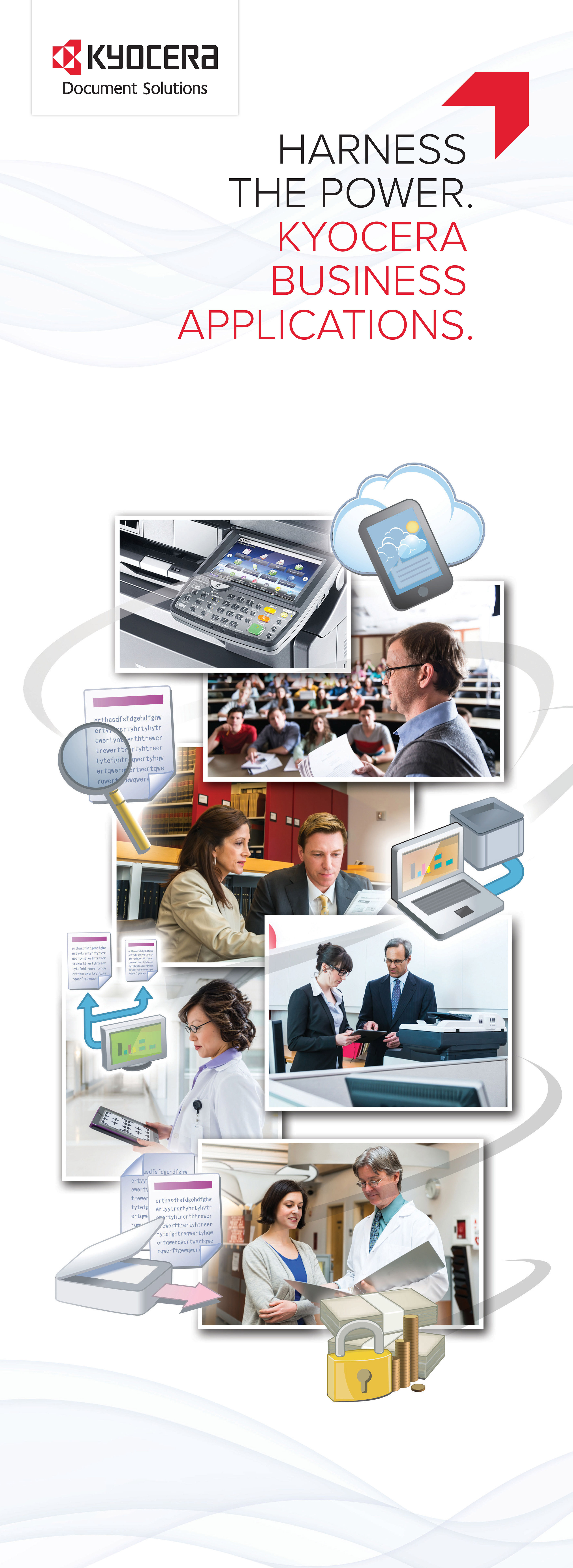 Kyocera Business Apps poster